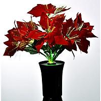 Bình hoa đèn led sợi quang đổi màu - bình hoa trang trí - bình hoa trạng nguyên cắm điện 220V - BH095