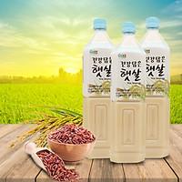 Combo 3 chai Nước gạo rang Dr.Chung Hàn Quốc chai 1.5L