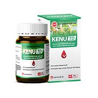 KENU TD - Hỗ trợ giảm đường huyết, giảm nguy cơ biến chứng do Tiểu đường (Lọ 40 viên)