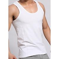 Áo lót nam có tay cotton 100% hàng cao cấp mềm co giãn hút mồ hôi tốt mặc siêu mát