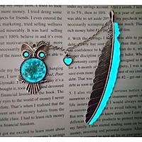 Bookmark dạ quang Chim cú