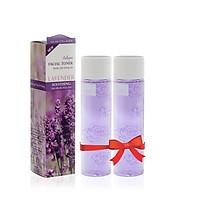 Combo 2 chai nước nước cân bằng da  chiết xuất từ Hoa oải hương dành riêng cho da nhạy cảm Lamcosmé (120ml)