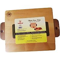Dụng Cụ Nhà Bếp - Thớt Chữ Nhật Quai Ngắn Nhỏ EN325 - Đồ Dùng Gia Dụng Nhà Bếp Bằng Gỗ