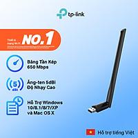 Bộ Chuyển Đổi USB Wifi TP-Link Archer T2U Plus Công Suất Cao AC600 - Hàng Chính Hãng
