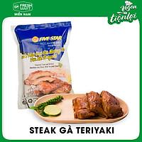 Steak thịt đùi gà nướng than với xốt Teriyaki - CP chính hãng