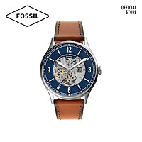 Đồng hồ nam FOSSIL Forrester dây da ME3179 - màu xanh dương