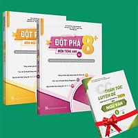 Sách - Combo Đột phá 8+(Phiên bản 2020) môn Tiếng anh tập 2 và Ngữ Văn (tặng ngay 1 cuốn CC thần tốc luyện đề 2020 môn Ngữ Văn tập 2)