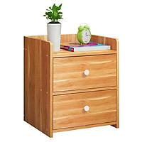 Tủ đầu giường 2 ngăn RE0277 ( đã lắp sẵn như hình )