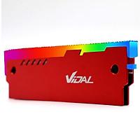 Tản nhiệt Ram Vidal Led 5v ARGB đồng bộ Hub Coolmoon - Hàng nhập khẩu