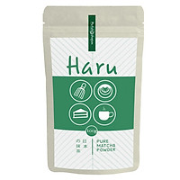 Bột trà xanh matcha Haru 100g