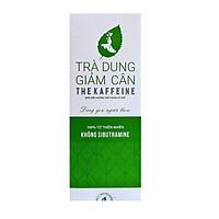 Trà dung hỗ trợ giảm cân The Kaffeine - Bao Bì Mới - Dạng túi lọc 30 gói - Chính hãng bởi The Kaffeine