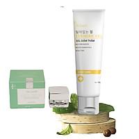 Kem mờ thâm mụn, sẹo, nám, vết thương, trắng mịn, ngừa tăng sắc tố Dr. Lacir tặng Kem Ngày Cool Cream Chống Nắng, Makeup Dr Lacir 5Gr