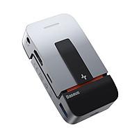 Bộ chuyển đổi Hub đa chức năng BASEUS Armor Age Type-C 9 cổng  (USB3.0 * 3 + HDMI * 1 + RJ45 * 1 + Loại-C * 3 + 3.5 Âm thanh) - Hàng chính hãng