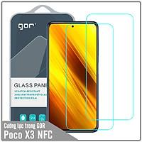 Bộ 2 kính cường lực Gor cho Xiaomi Poco X3 NFC - Hàng Nhập Khẩu