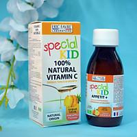 SPECIAL KID VITAMINE C NATURELLE - Siro Bổ sung Vitamin C tự nhiên - Giúp tăng cường sức đề kháng cho bé - Nhập khẩu Pháp (125ml)