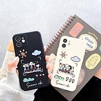 Ốp Lưng Cạnh Vuông Vibe Summer Dành Cho iPhone 6 / 6 Plus / 7 / 7 Plus / 8 / 8 Plus / X / Xs / Xs Max / 11 / 11 Pro / 11 Pro Max / 12 / 12 Pro / 12 Pro Max