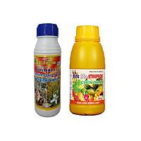 Bộ 2 chai Phân bón lá Ado Ethephon - RỤNG LÁ BẬT CHỒI HOA - CHÍN TRÁI ĐỒNG LOẠT chai 500ml