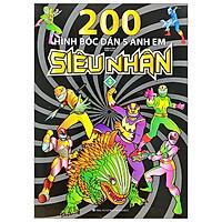 200 Hình Bóc Dán 5 Anh Em Siêu Nhân – Tập 2