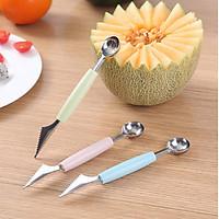Dao cắt tỉa múc tạo hình trái cây ( màu ngẫu nhiên )