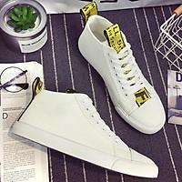 Giày sneaker vải nam cổ lửng LAHstore, chất vải bố đế casu bền chắc, thời trang thu đông 2020