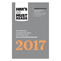 Harvard Business Review's 10 Must Reads 2017