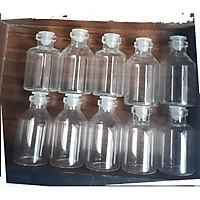 COMBO 10 lọ thủy tinh 5 ml nhỏ có nắp đậy tặng ngay 1 lọ thủy tinh 5ml dài