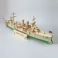 Đồ chơi lắp ráp gỗ 3D Mô hình Chiến Hạm ABPOPA Aurora