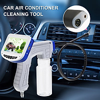 Visual Cleaning Gun for Car Air Conditioner, Pipeline Inspection Camera LCD Display Car Air Conditioner Visual Cleaning