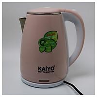 Ấm siêu tốc 2 lớp chống bỏng cao cấp Kaiyo KY168 - Hàng chính hãng
