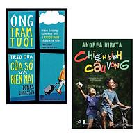 Combo Sách Văn Học Hấp Dẫn: Ông Trăm Tuổi Trèo Qua Cửa Sổ Và Biến Mất (Tái Bản) + Chiến Binh Cầu Vồng (Tái Bản 2020) / Top Những Cuốn Sách Bán Chạy