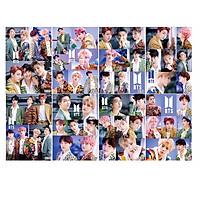 Ảnh treo tường poster BTS in hình nhóm nhạc thần tượng Hàn quốc thiết kế độc đáo