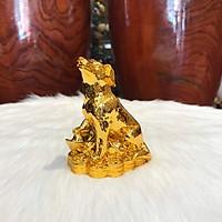 Linh Khuyển Phong Thủy Mạ Vàng