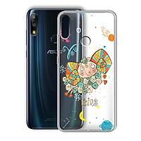 Ốp lưng Dẻo cho điện thoại Zenfone Max Pro M2 - 01219 8050 ARIES 01 - In Nổi Họa Tiết - Cung Bạch Dương - Hàng Chính Hãng