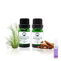 Combo tinh dầu Sả Java và Quế PK - tặng xịt phòng lavender