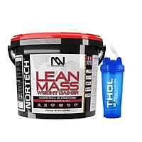 Lean Mass Weight Gainer, Hổ trợ tăng cân tăng cơ, 4000g, 15 liều dùng