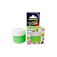 Mặt nạ ngủ môi Care:nel Lip Sleeping Mask Lime 5g dưỡng ẩm và tẩy tế bào chết hương chanh