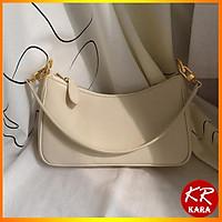 (Mẫu HOT) Túi Kẹp Nách Nữ Túi đeo chéo nữ Vintage Hottrend KR 180- 2 Màu Lựa chọn, Chất liệu cao cấp, Có 2 Dây- KARA 180
