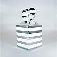 Hộp quà - Sọc bạc