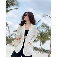 áo blazer nữ áo vest nữ dáng suông rộng chất vải cao cấp kiểu hàn quốc