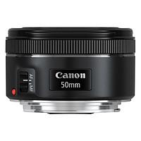 Combo Ống Kính Máy Ảnh Canon 50mm f/1.8 STM + Hood ES-68 + Filter 49mm (Đen) - Hàng Nhập Khẩu