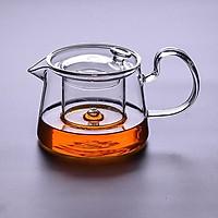 Transparent glass teapot tea set high temperature filter tea pot teapot teapot 580ml