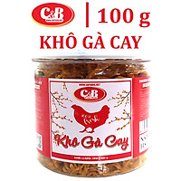 Khô Gà Cay C&B Hộp 100 Gram