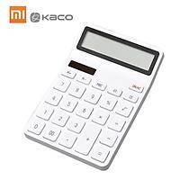 Máy tính Xiaomi LEMO Máy tính mini để bàn Điện tử Máy tính xách tay 12 Màn hình LCD kỹ thuật số Tự động tắt cho Tài chính Văn phòng