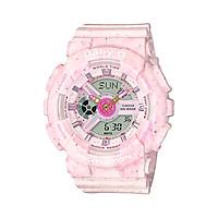 Đồng hồ nữ dây nhựa Casio Baby-G chính hãng BA-110PI-4ADR