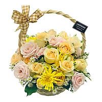 Giỏ Hoa Rực Rỡ L56016