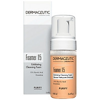 Sữa rửa mặt làm sạch da Dermaceutic Pháp - Foamer 15
