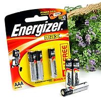 Bộ 2 Vỉ Pin Energizer Alkaline Max AAA E92 2+1