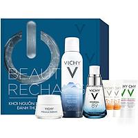 Bộ sản phẩm VICHY Beauty Recharge Box giúp phục hồi, tái tạo và bảo vệ da tối ưu