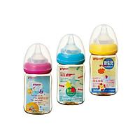 Bình Sữa Cổ Rộng Pigeon nhựa PPSU PLUS 160ml (Giao màu ngẫu nhiên)