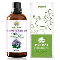 Tinh dầu hoa Ngũ Sắc (hoa cỏ hôi, hoa cứt lợn) 100ml Mộc Mây - tinh dầu nguyên chất từ thiên nhiên - Có kiểm định Bộ Y Tế, chất lượng và mùi hương vượt trội